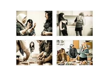 Foto: Frauen kochen zusammen