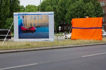 """""""Blaues Band"""" Müllerstraße, Berlin 2014"""
