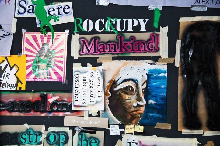 Berlin Biennale - Occupy - Berlin Mitte, in den Kunstwerken, 2. Juni 2012