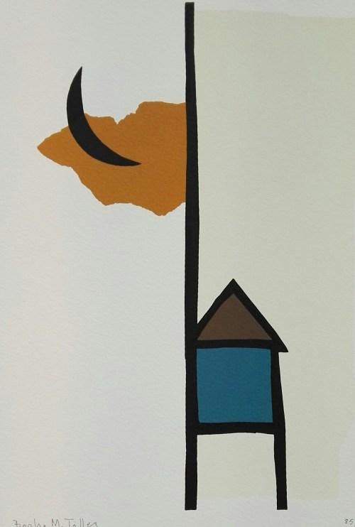 Barbro Tiller - Hus og måne