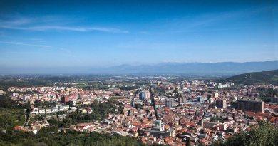Iglesias. Lavori condotta fognaria in Piazza Cavallera