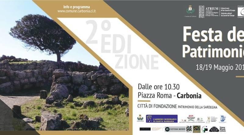 Carbonia. Ritorna la Festa del Patrimonio