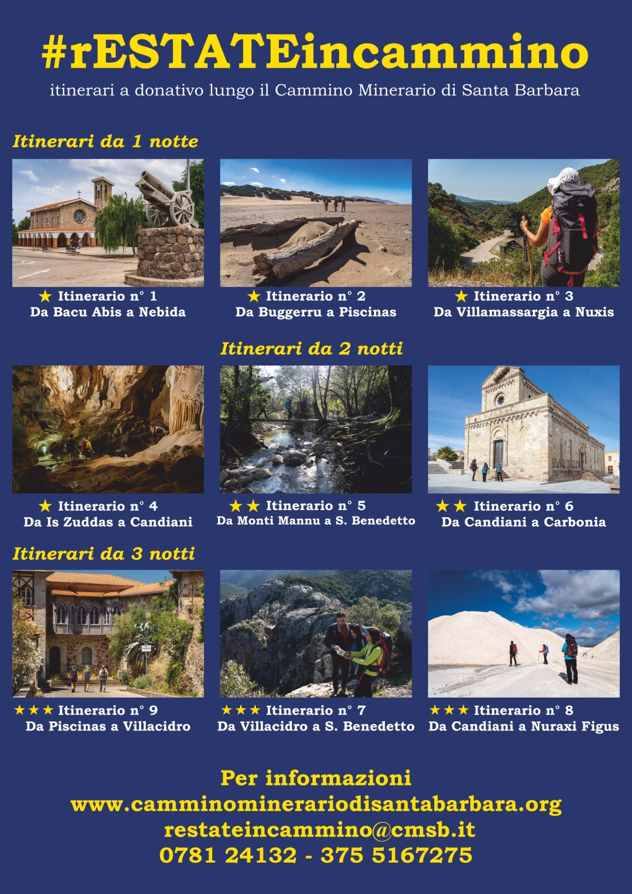 itinerari FCMSB