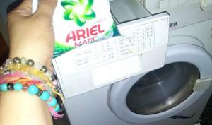 Commencing washing etd