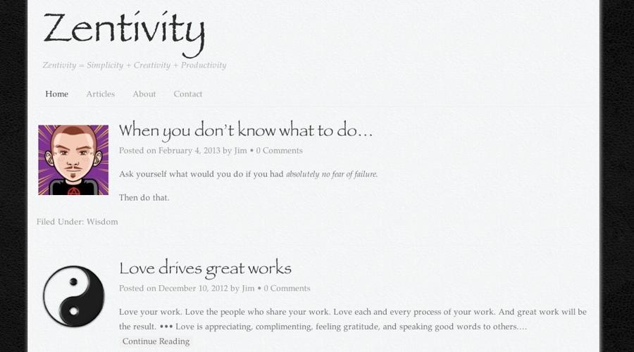 Zentivity