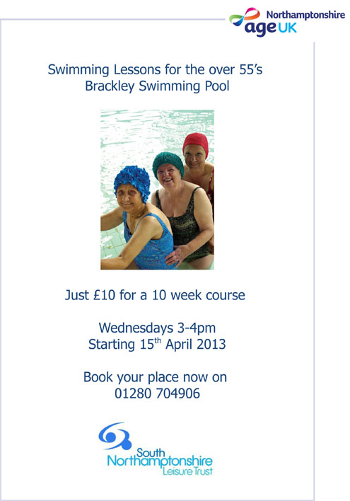 Brackley swimming lessons.