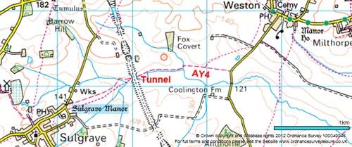 Bridleway AY4 Map 02