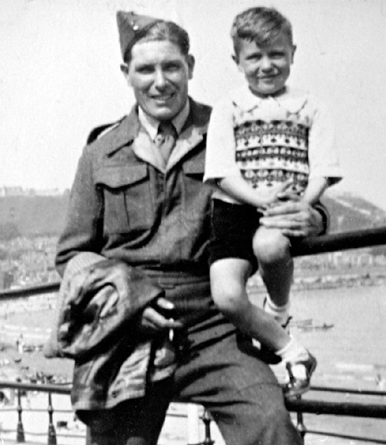 Sidney and Colin Wootton, Scarborough 1945