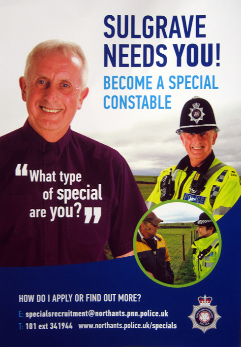 "Northants Police seeking volunteers for ""Parish Special ..."