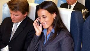 telefono in aereo