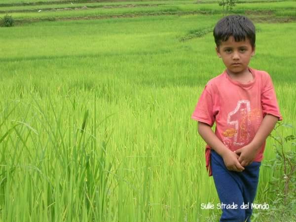 bambino nepalese