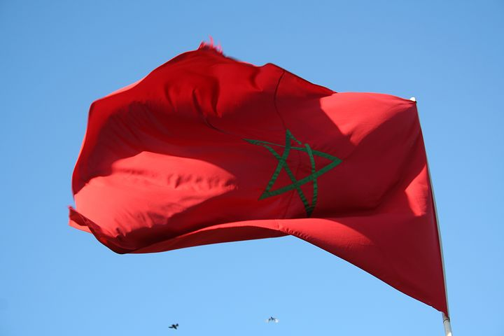 bandiera marocchina