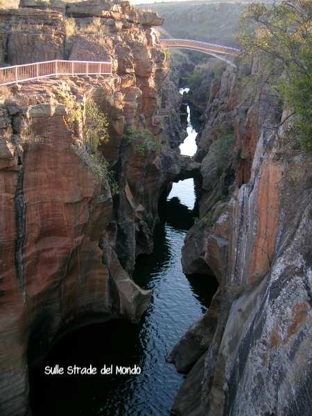 Veduta Blyde river canyon