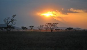 Tramonto africa