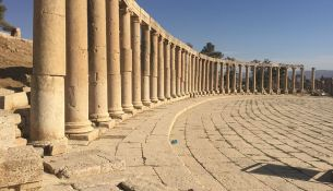 Jerash piazza ovale