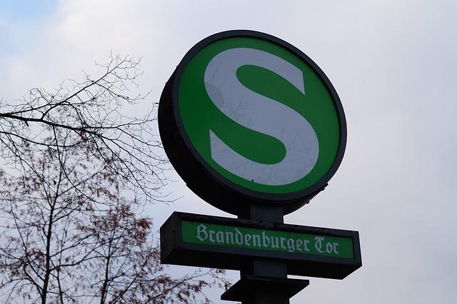 insegna della metropolitana Sbhan di Berlino