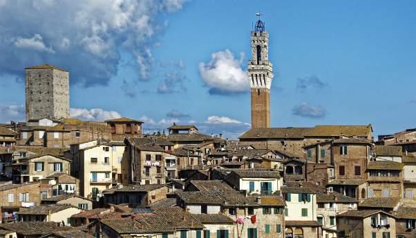 Siena uno dei sette Siti Unesco Toscana