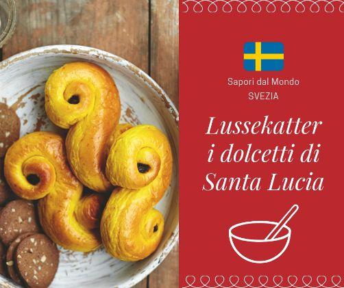 Ricetta lussekatter svedesi