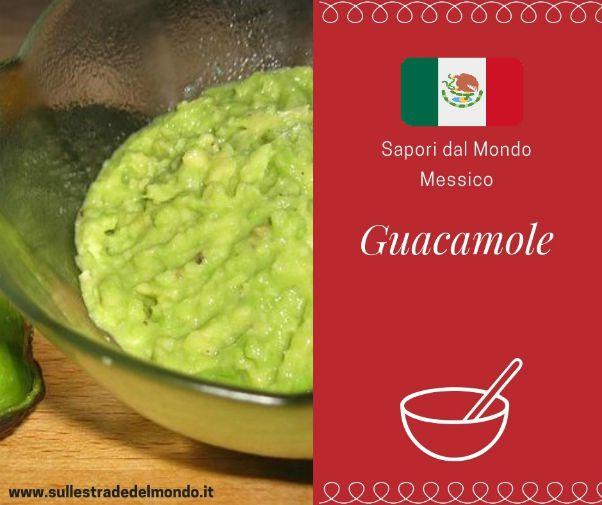 ricetta guacamole messico