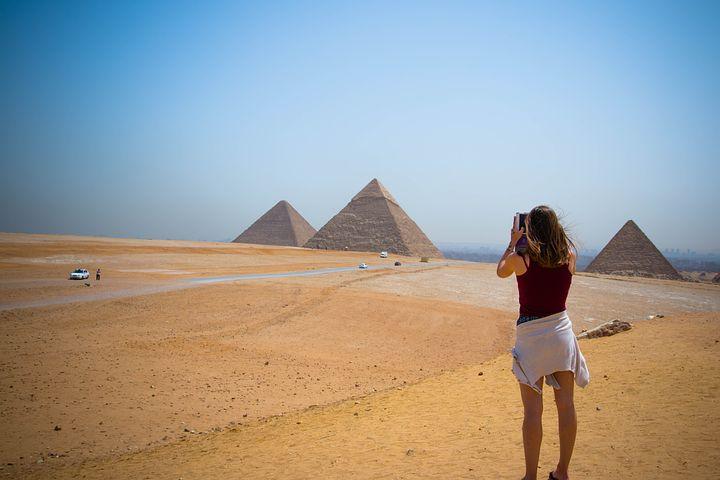 Turista piramidi