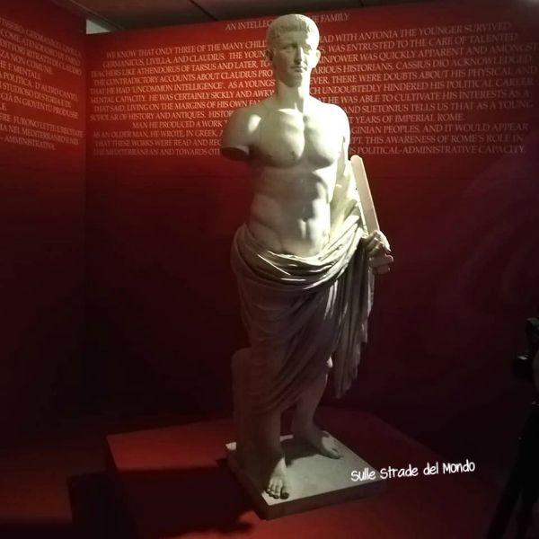 Claudio Imperatore, in mostra a Roma