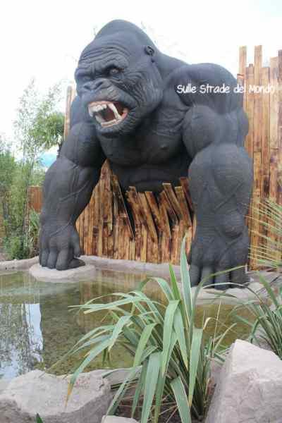 Il gorilla di Rainbow Magicland