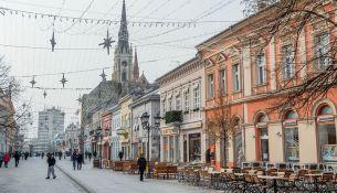 strada pedonale a Novi Sad
