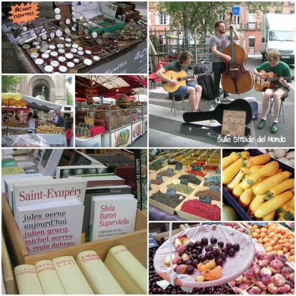 mercato  Saint-Aubin
