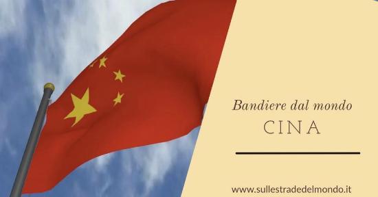 Bandiera cinese, storia e significato - Sulle Strade del Mondo