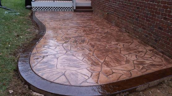 stamped concrete raleigh