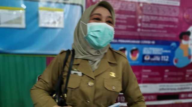 Kepala Dinas Kesehatan Kota Makassar dr Naisyah Tun Azikin