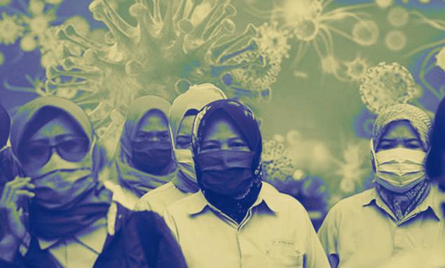 Ilustrasi Pandemi Covid-19.