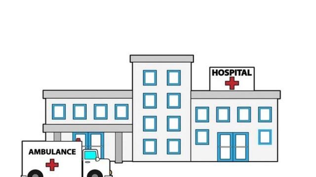 Ilustrasi rumah sakit yang menangani pasien virus corona atau Covid-19.
