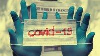 Ilustrasi virus corona atau Covid-19