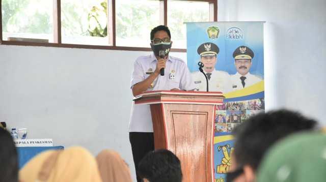 Kepala Dinas Kesehatan Kabupaten Gowa dr Hasanuddin