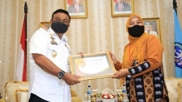 Direktur Bina Keluarga Balita dan Anak BKKBN Pusat Safrina Salim