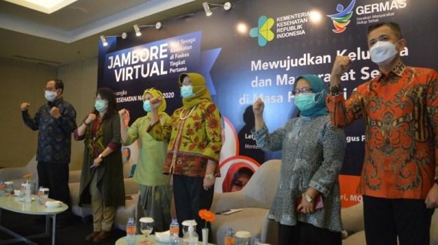 Suasana Jambore Virtual Bagi Tenaga Kesehatan di FKTP