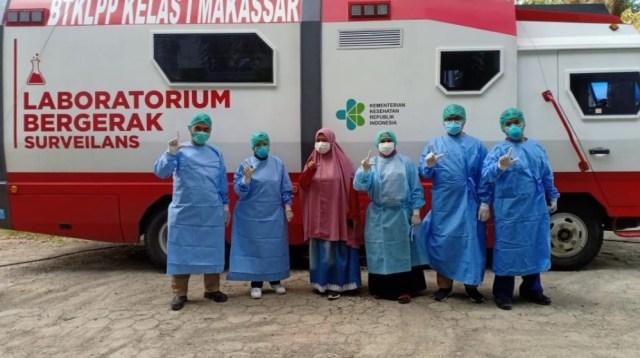 Bergerak BTKLPP Kelas 1 Makassar
