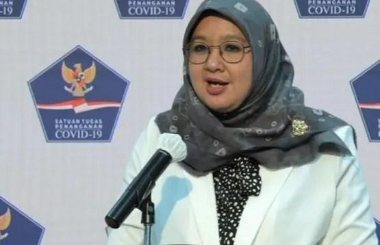 Juru Bicara Vaksinasi Covid-19 dr. Siti Nadia Tarmizi.