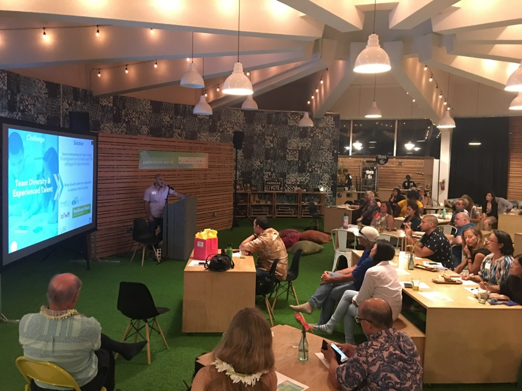 All Aloha - Omar Sultan XLR8UH Startup Paradise All Aloha Accelerator Meet Up Hawaii Investment Ready