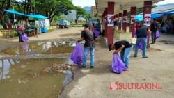 Aksi Pungut Sampah di Hari Bumi, Mahasiswa: Harapannya Diterapkan Setiap Hari