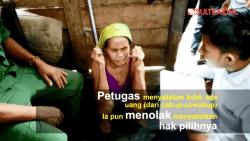 Wanita Asal Konawe Tak Mau Mencoblos Karena Tak Diberi Serangan Fajar