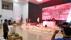 Rapat pleno KPUD Kolaka penetapan Bupati dan Wakil Bupati Kolaka terpilih periode 2018-2023, MInggu (12/8/2018). (Foto: Mirwan/SULTRAKINI.COM)