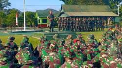 Pangdam XIV Hasanudin, Mayjen TNI Surawahadi saat Buka Latihan Pratugas Pengamanan Perbabatasan 725 Woroagi, Rabu (12/9/2018). (Foto: Istimewa)