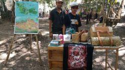 Pameran kreatifemba dalam festival pulau Tomia. (Foto: istimewa)