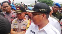 Upaya mediasi Pemkot Kendari dengan pedagang yang menolak penertiban Pasar Panjang beberapa waktu lalu. (Foto: Dok.SULTRAKINI.COM)