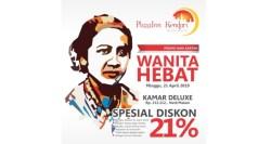 Promo Lagi, PlazaInn Kendari Buat Perempuan Lebih Spesial di Hari Kartini