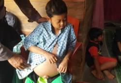 Kisah Bocah Pemimpi dari Konawe Menahan Sakit Dibawah Garis Kemiskinan