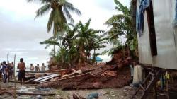 Rumah warga porak-poranda dihantam puting beliung, Desa Lambuluo, Kecamatan Motui, Kabupaten Konut, Selasa (23/4/2019), (Foto. Istimewa).