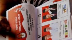 Surat suara Pilpres 2019 (Foto: net).